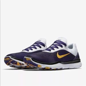 Nike LSU Free trainer V7 Week shoes Purple/White